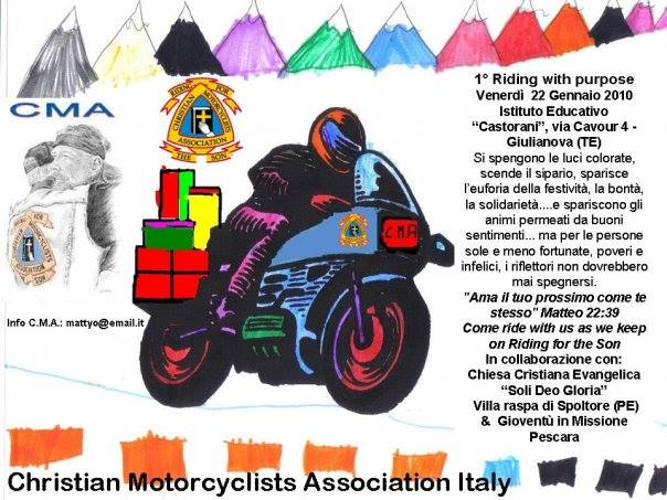 1° MOTORCYCLISTS BENEFIT 2010