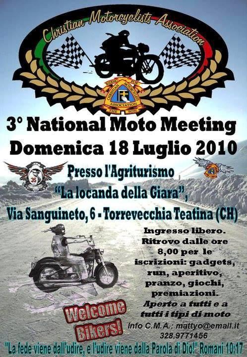 3° NATIONAL MOTO MEETING 2010